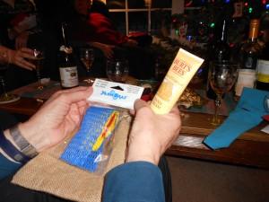 Julie's first gift. Stolen!