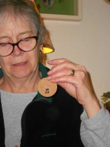 Earrings for Leslie.